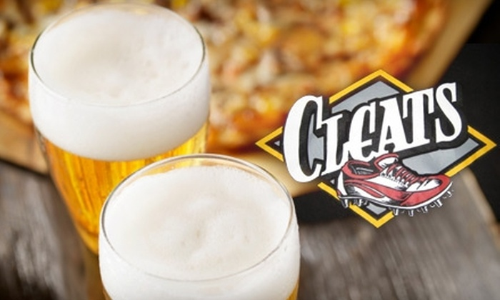 Cleats Bar & Grill - Northeast Colorado Springs: $6 for $12 Worth of Burgers, Wings, and More at Cleats Sports Bar & Grill