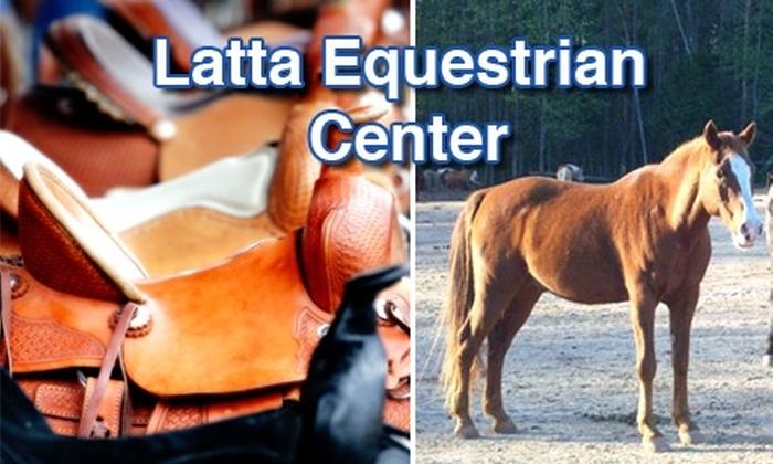 Latta Equestrian Center - 11, Long Creek: $25 Toward Trail Rides and More at Latta Equestrian Center