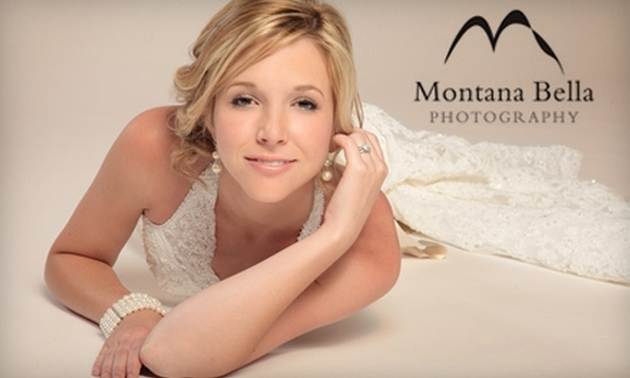 "Montana Bella Photography - Murrieta: $47 for a One-Hour Studio Session and an 8""x10"" Print at Montana Bella Photography ($95 Value)"