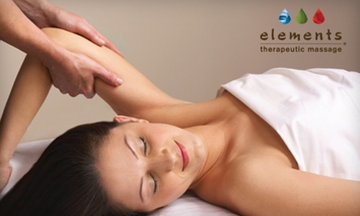 Elements Therapeutic Massage - Missouri City: $49 for an 80-Minute Deep Tissue or Swedish Massage from Elements Therapeutic Massage ($99 Value)