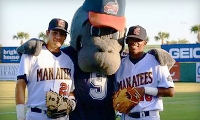 Brevard County Manatees - Viera West: Two General-Admission Tickets to a Brevard County Manatees Baseball Game in Viera. Six Games Available.