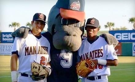 Brevard County Manatees vs. Tampa Yankees on Sun., Jun. 26 at 5:05PM - Brevard County Manatees in Viera