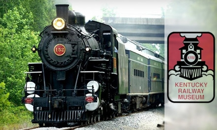 Kentucky Railway Museum - Hodgenville: Ticket for a Scenic Train Ride and Admission to Kentucky Railway Museum. Choose from Two Options.