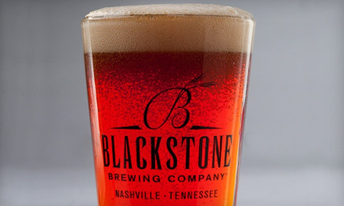 Blackstone Brewing Company - Richland: $20 for a Brewery-Tour Package with Beer School and Tasting for Two at Blackstone Brewing Company ($55 Value)
