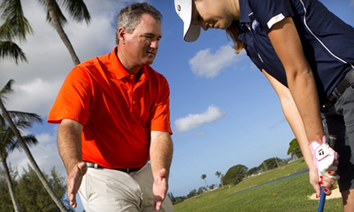 Brian Mogg Performance Center of Hawaii - Ewa: $99 for Nine-Hole Play-Through Golf Lesson at the Brian Mogg Performance Center of Hawaii ($215 Value)