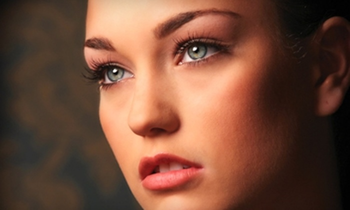 Jenna's Make-up & Waxing Studio - Hosford - Abernethy: $160 for Celebrity Eyelash Extensions and Eyebrow Shaping at Jenna's Make-up & Waxing Studio ($325 Value)