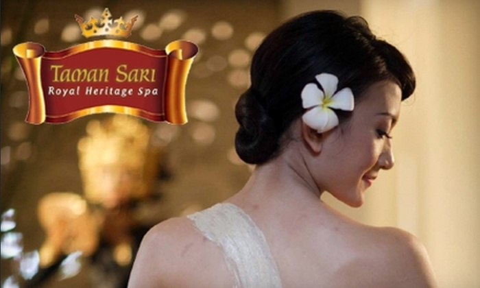 Taman Sari Royal Heritage Spa - Whistler: $109 For A Javanese Pampering Package At Taman Sari Royal Heritage Spa ($240 Value)