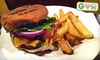 Burgers All Weekend Long: Chow Down with 50% Off at Burke's Restaurant and Bar and More!