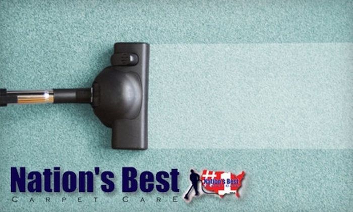 Nation's Best Carpet Care - Pasadena: $179 for a Full House Carpet Cleaning from Nation's Best Carpet Care (Up to $408 Value)