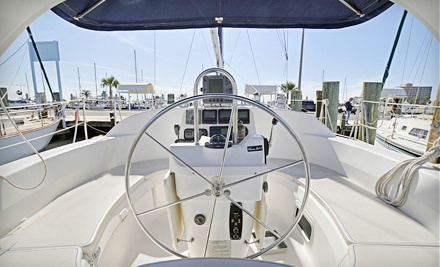 2-hour Introduction To Sailing Class for 2 (a $120 value) - Yachting Center of Corpus Christi in Corpus Christi