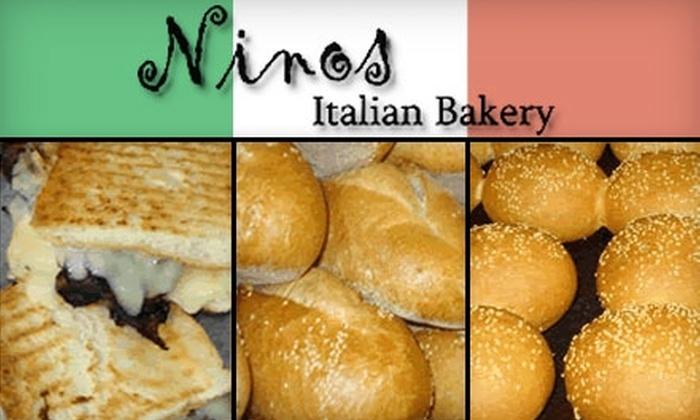Ninos Italian Bakery - Menomonee Meadows: $7 for $15 Worth of Italian Fare at Nino's Italian Bakery
