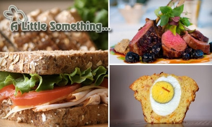 A Little Something… - Boston: $10 for $20 Worth of Café Cuisine at A Little Something…