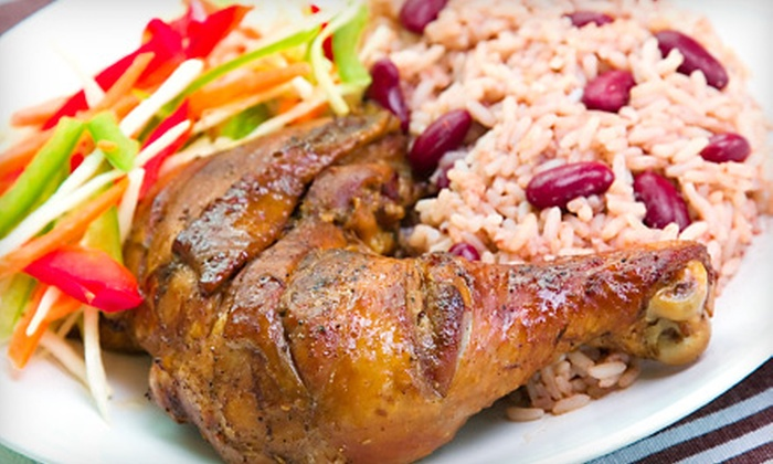 Jamrock Kitchen and Grill - Oakland Park: Caribbean Dinner at Jamrock Kitchen and Grill. (Up to 51% Off). Two Options Available.