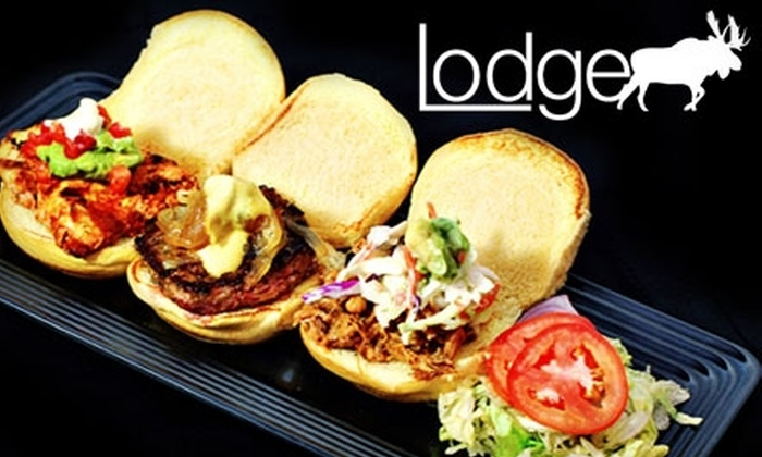 Ciccio Restaurant Group - Courier City/Oscawana: $17 for $35 Worth of Eclectic Fare and Drinks at The Lodge Restaurant & Bar