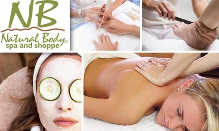 Natural Body Spa - Washington DC: Mani-Pedi, Massage, or Facial at Natural Body Spa