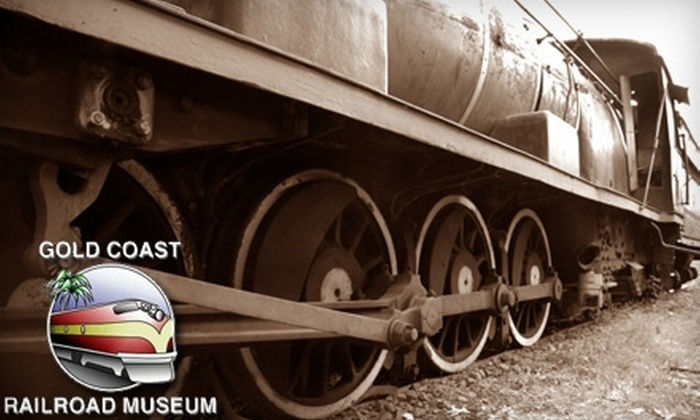 Gold Coast Railroad Museum - Richmond Naval Air Station: $6 for Two General Admission Tickets to the Gold Coast Railway Museum