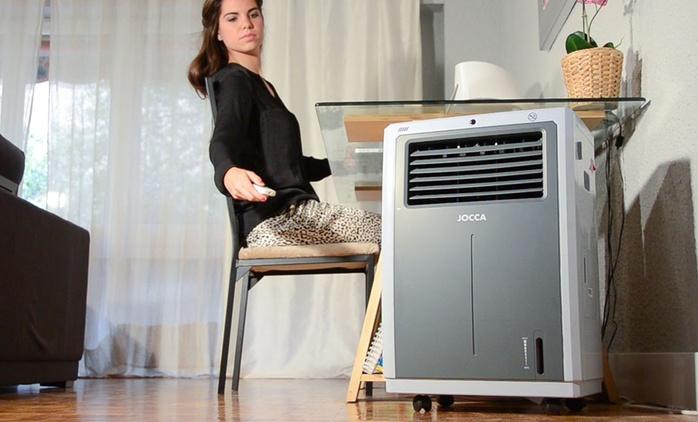 Condizionatore Jocca con funzioni raffreddamento, riscaldamento e umidificazione da 89,99 € (fino a 44% di sconto)