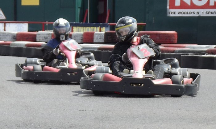 50 Laps of Outdoor Karting for One, Two or Four at The Midland Karting