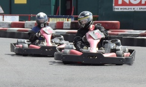 The Midland Karting: 50 Laps of Outdoor Karting for One, Two or Four at The Midland Karting