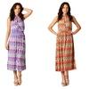 California Woman MX-10 Halter-Neck Dress
