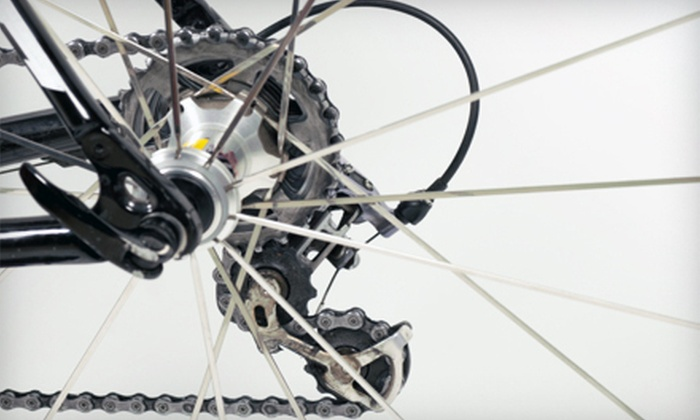Capital Bicycle - Annapolis: Basic Tune-up with Optional Drivetrain Cleaning or $20 for $40 Worth of Gear at Capital Bicycle