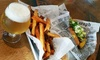 Link N Hops - Atwater Village: Two or Four Sausage Links or Burgers with Large Fries or Pretzels at Link N Hops (Up to 40% Off)