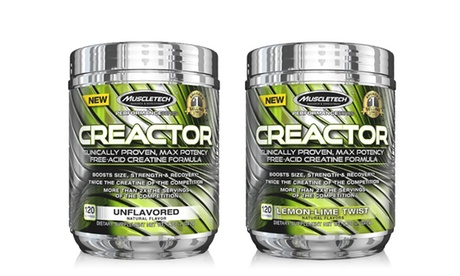 120 Servings of MuscleTech Performance Series Creactor Creatine Powder