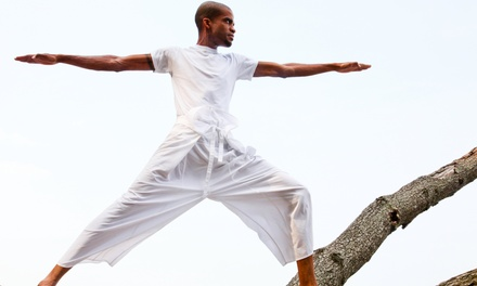 One or Three Months of Unlimited Yoga Classes at Spiritual Essence Yoga (58% Off)