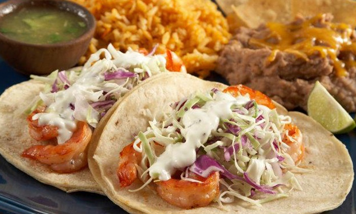Taco Factory Inc - Multiple Locations: $12 for Three Vouchers, Good for $8 Worth of Food at Taco Factory Inc ($24 Value)