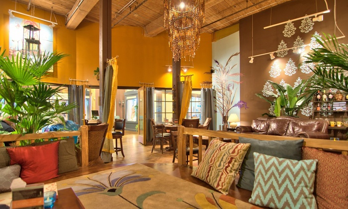 Oasis at Carr Mill Mall - Carrboro Central Business District: $15 for Three Groupons, Each Good for $10 Worth of Café Food at Oasis at Carr Mill ($30 Value)
