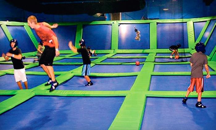 Get Air Sportsplex - Kaysville: $10 for One Hour of Jumping for Two at Get Air Sportsplex ($20 Value)