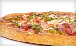 Ray's Pizza: $10 for Two Medium, Two-Topping Pizzas at Ray's Pizza ($21.98 Value)