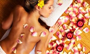 Olos (Mesagne): Manicure, ceretta, pulizia viso e massaggio corpo (sconto 75%)