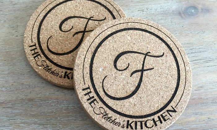 American Laser Crafts: $5 for a Set of Two Custom Coasters from American Laser Crafts ($12.99 Value)