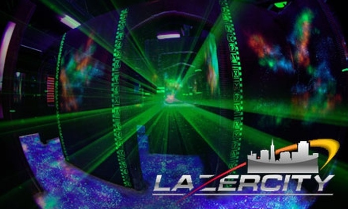 LaZerCity - South El Dorado: $10 for Three Hours of Laser Tag at LaZerCity ($20 Value)