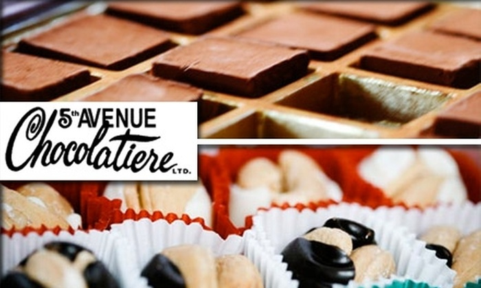5th Avenue Chocolatiere  - Midtown South Central: $15 for $30 Worth of Chocolates from 5th Avenue Chocolatiere