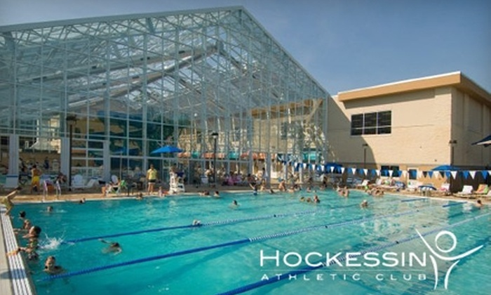 Hockessin Athletic Club - Wilmington-Newark: $35 for a One-Month Membership Including Unlimited Fitness Classes at Hockessin Athletic Club ($94 Value)