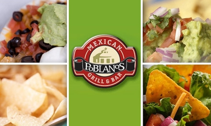 Poblano Mexican Grill and Bar - Clearwater: $10 for $25 Worth of Comida y Bebidas at Poblanos Mexican Grill & Bar