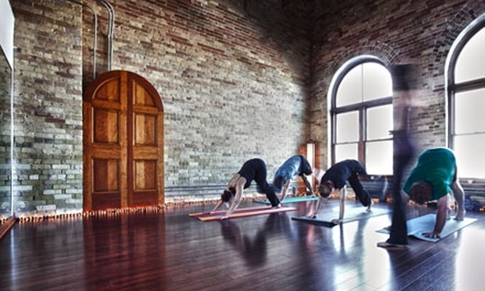 The Studio in Madison - Madison: $30 for Five-Class Hot-Yoga Pass at The Studio ($70 Value)
