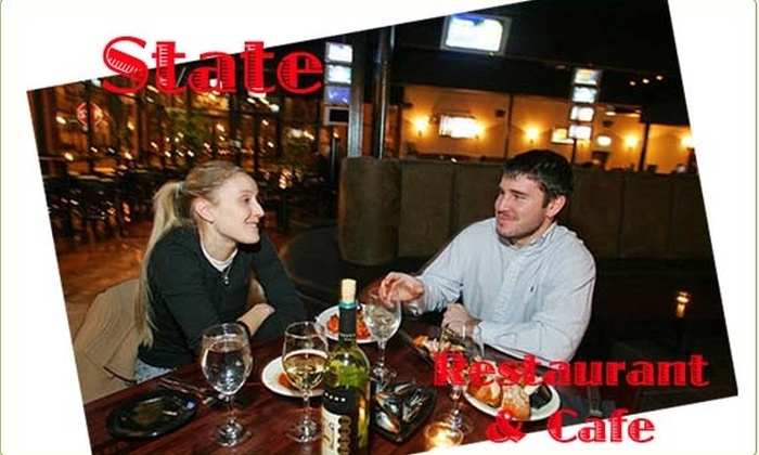 State Restaurant and Cafe - DePaul:  $25 Gift Certificate for $10 to State Restaurant & Cafe