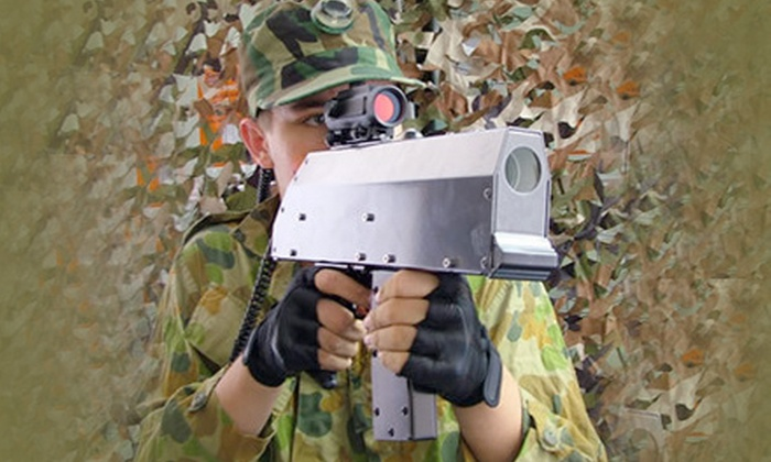 Galaxy Gaming - Sioux Falls: $9 for an Indoor-Laser-Tag Package at Galaxy Gaming ($24.50 Value)