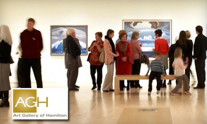 Art Gallery of Hamilton - Downtown Hamilton: Membership at the Art Gallery of Hamilton. Choose Between Two Options.