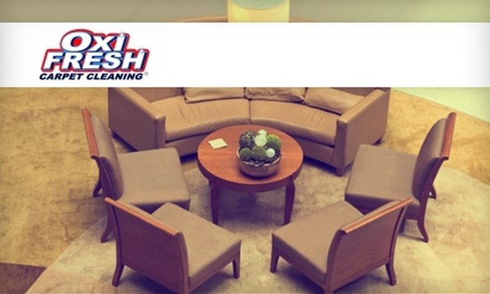 Oxi Fresh Carpet Cleaning - Riverside: $59 for Two Rooms of Carpet Cleaning and Two Rooms of Protectant Application from Oxi Fresh Carpet Cleaning ($118 Value)