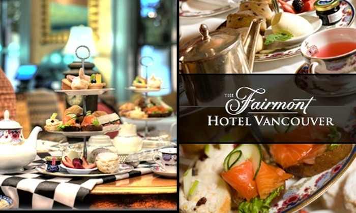 The Fairmont Hotel Vancouver - Downtown Vancouver: $36 for Afternoon Tea for Two at The Fairmont Hotel Vancouver