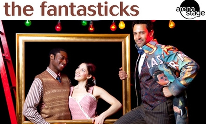 "Arena Stage - U Street - Cardozo: $34 Tickets to ""The Fantasticks"" at Lincoln Theatre. Buy Here for December 21 at 7:30 p.m. See Below for November 27 at 8 p.m."