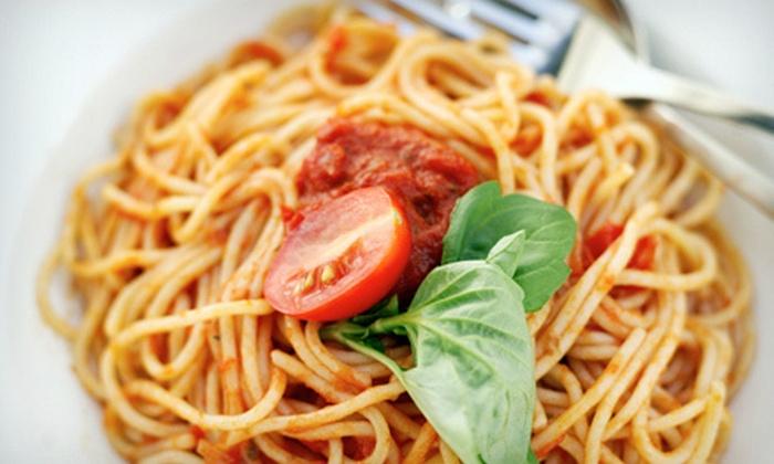 Mangia Ristorante Pizzeria - Lafayette: Italian Fare at Mangia Ristorante Pizzeria in Lafayette (Up to 53% Off). Two Options Available.