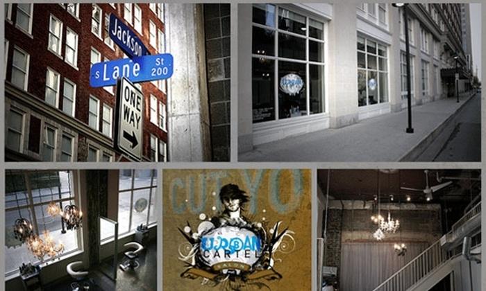 Urban Cartel Salon - Downtown Dallas: $29 for a Men's Cut, Style, Scalp Massage, and More at Urban Cartel Salon ($70 Value)