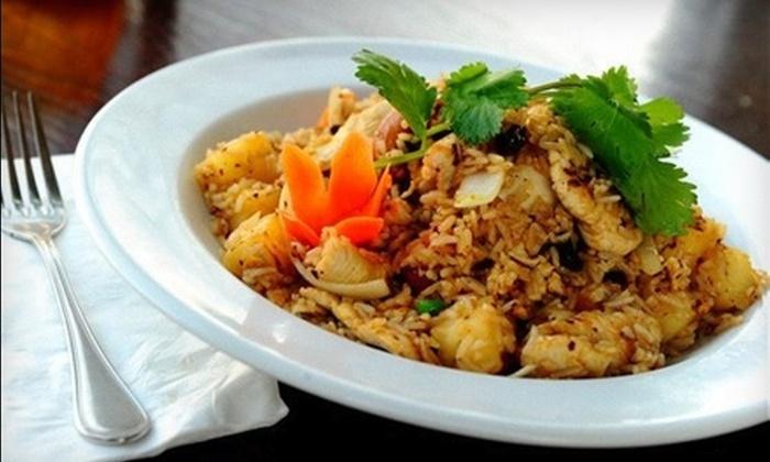 Thai Terrace Restaurant - Humboldt: $8 for $16 Worth of Thai Fare and Drinks at Thai Terrace Restaurant