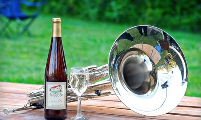 Mallow Run Winery - Indianapolis: $10 for One Ticket to the Carmel Symphony Orchestra Concert on July 9 at Mallow Run Winery in Bargersville (Up to $25 Value)