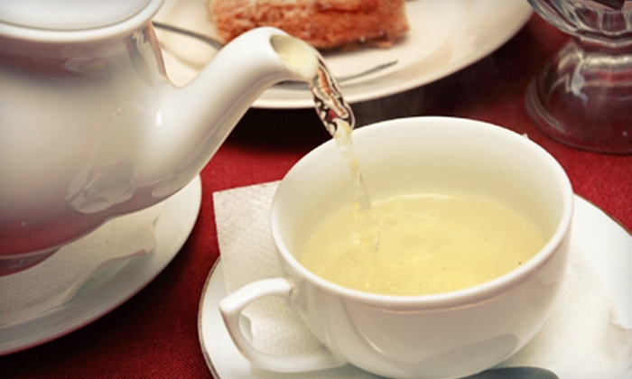 The Teahouse & Coffeepot - Midtown,Westport: Tea with Café Fare for Two or $10 for $20 Worth of Loose-Leaf Tea at The Teahouse & Coffeepot